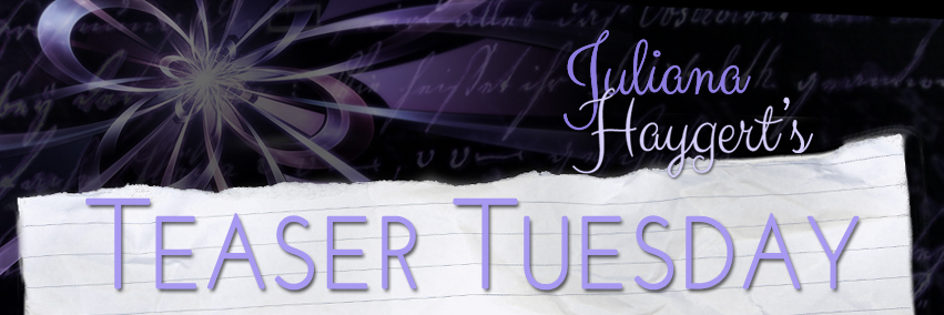 Juliana Haygert - Teaser Tuesday